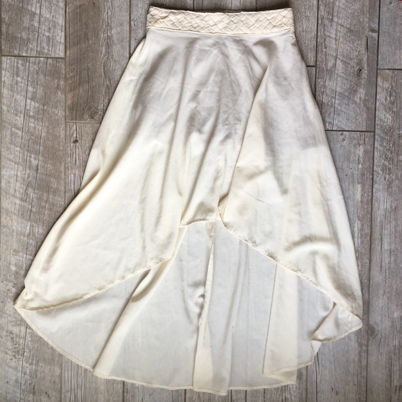 SuperB Dresses & Skirts - SuperB - High-Low Skirt Off-White M